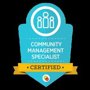 Community Mastery Certificate