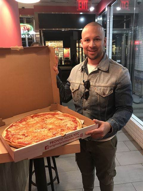NYC Giant Pizza