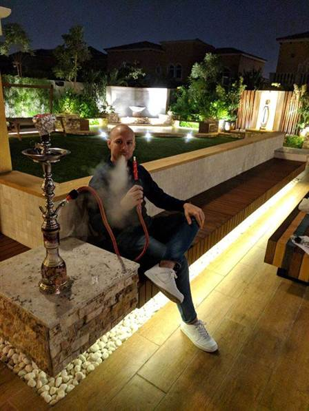 Hitting the shisha in Dubai