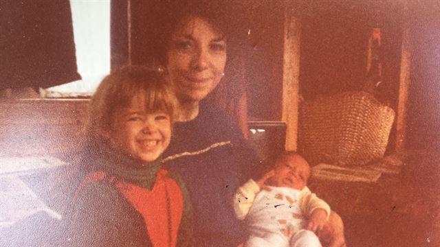 Sister, Grandma and me. 1985, Wales.