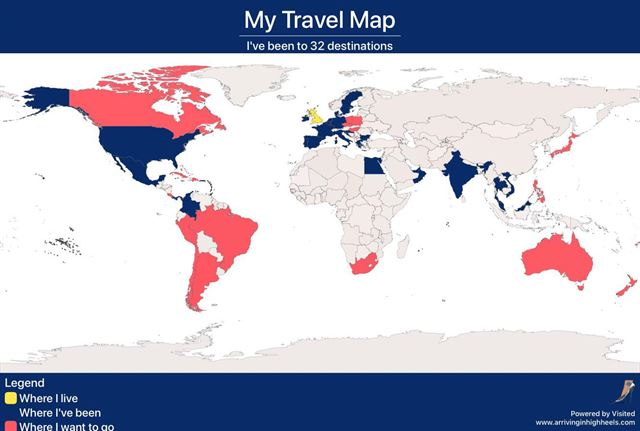 my-travel-map