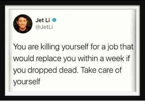 Jet Li knows.