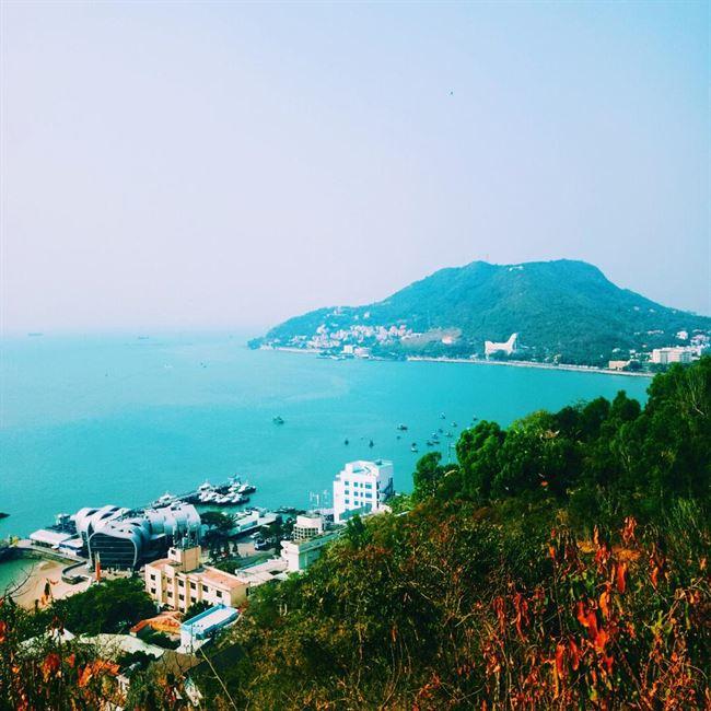 Vũng Tàu coastline. Vietnam