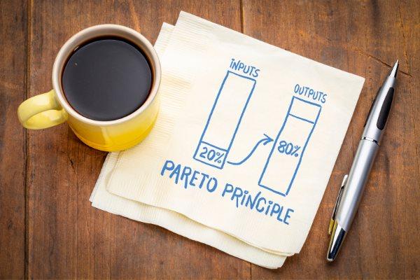 Achieve more with the pareto principle